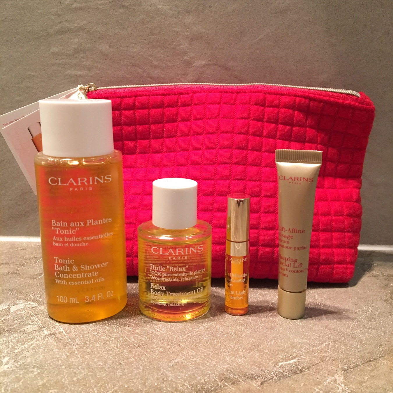 Clarins Chinese New Year Gift With Purchase Bellyrubz
