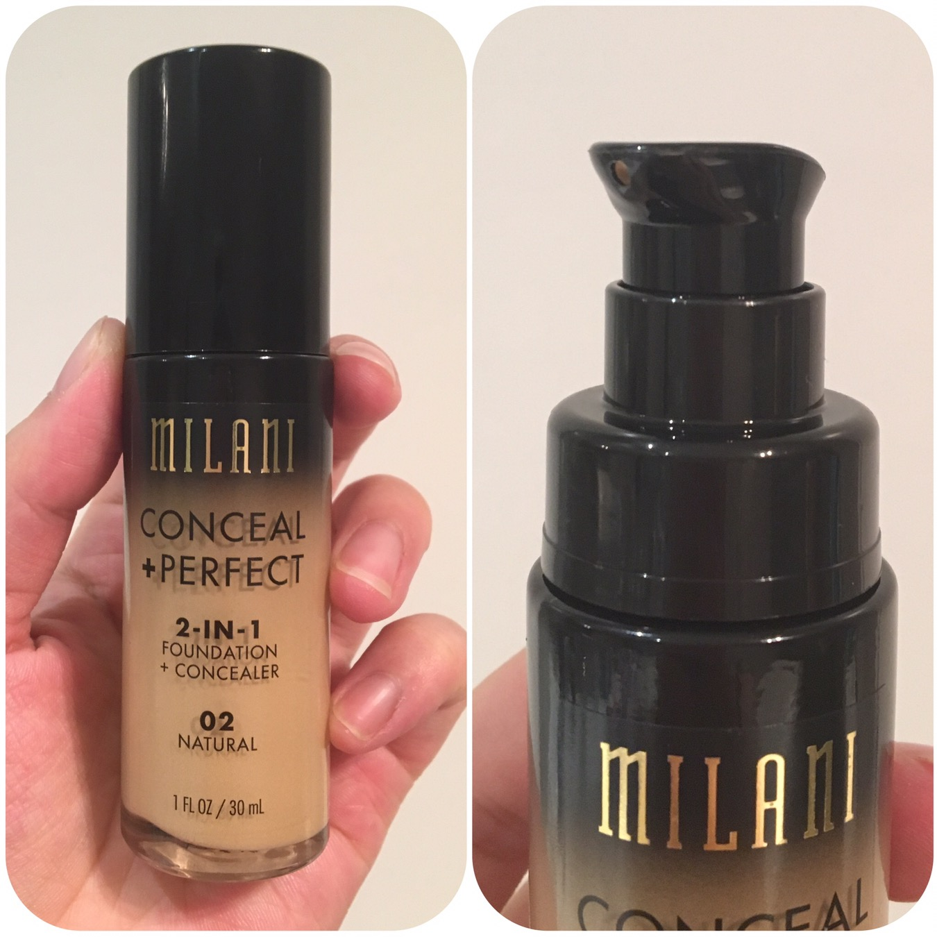 Milani Conceal Perfect 2 In 1 Foundation Bellyrubz Beauty